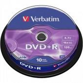 DVD -R 4.7 GB 16X VERBATIN