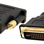 ADAPTADOR DVD-D (MACHO) HDMI (FÊMEA)
