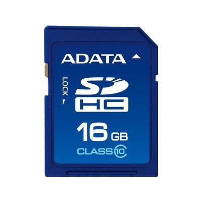 CARTÃO MEMORIA 16GB CLASSE 10 ADATA