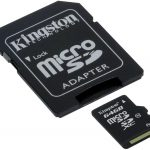 CARTÃO MEMORIA 64GB CLASSE 10 KINGSTON