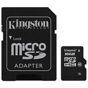 SD MICRO KINGSTON 16GB CLASS 10