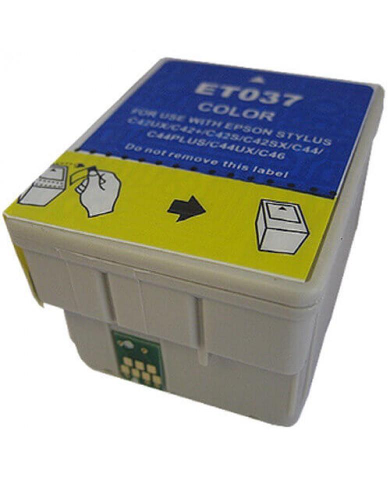 Tinteiro Epson Compatível T037 – Cor
