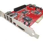 COMBO CARD FIREWIRE + USB 2.0