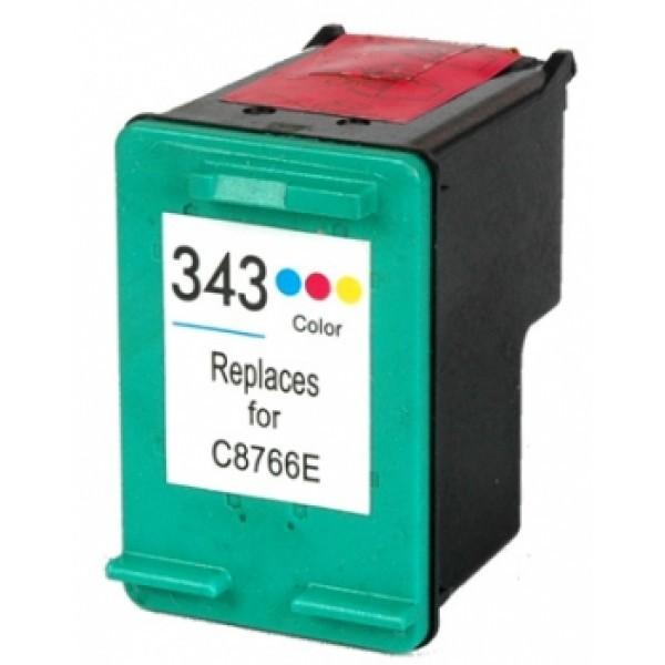 Tinteiro HP Compatível Nº 343 tricolor