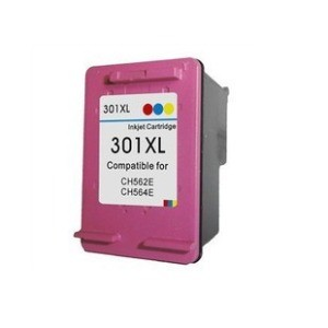 Tinteiro HP Compatível  301 XL Cores