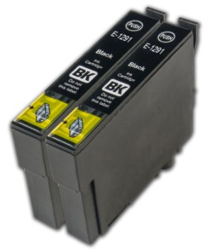 Tinteiro Epson Compatível T1291 – Preto