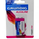 PILHA ALCALINA 6LR61 9V GRUND.IG